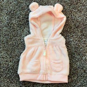 Carter's baby girl vest